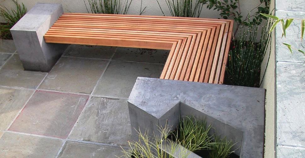 concrete bench contractor