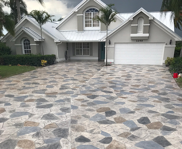 stamped concrete contractor los angeles